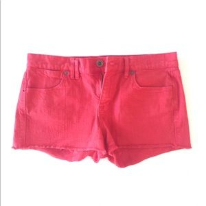 Madewell Red Shorts